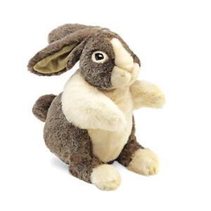 NEW PLUSH SOFT TOY Folkmanis 2568 Dutch Rabbit Full Body Hand Puppet