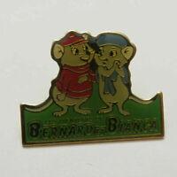 Disney Bernard and Bianca Rescuers Retro Old Pin
