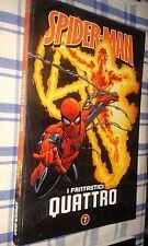 SPIDERMAN-SPIDER-MAN # 7 - I FANTASTICI QUATTRO-UOMO RAGNO-GAZZETTA DELLO SPORT