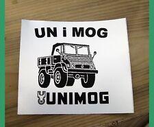 Aufkleber Oldtimer BY Sticker Unimog 411 boirisch A58