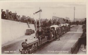Postcard (1) 1900s Southsea Miniture Railway,unused