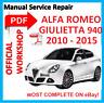 # OFFICIAL WORKSHOP MANUAL service repair FOR Alfa Romeo Giulietta  A-191 (940)