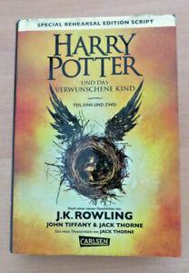Harry Potter 8 und das verwunschene Kind. Teil eins und zwei (Special Rehearsal