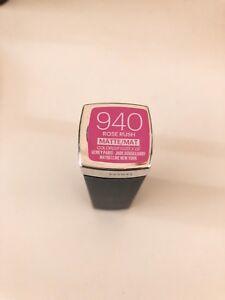 Maybelline Lipstick (ROSE RUSH) - Matte 940