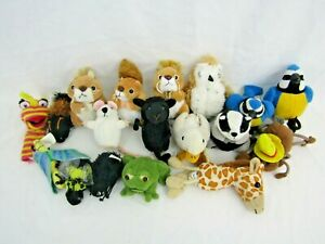 The Puppet Company animal finger puppets bundle A
