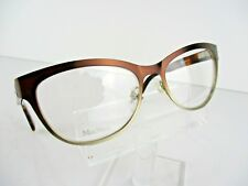 NEW Max Mara MM 1241 (FQK) Brown Gold Havana 54 x 17 135 mm Eyeglasses Frames