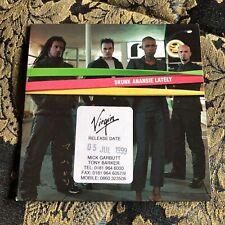 Skunk Anansie rare PROMO cardboard cd single LATELY