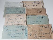 8 Feldpost Briefe 1943-44 eines Wehrmacht Soldaten