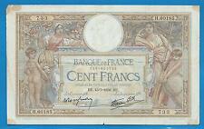 GERTROLEN  Billet 100 FRANCS  Luc Olivier Merson 15-7-1938  H.60185