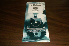 1998 BRITISH COLUMBIA RAILROAD ROYAL HUDSON BROCHURE