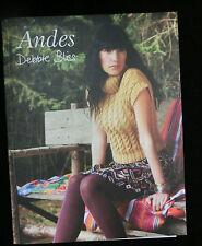 ANDES by Debbie Bliss, Anleitungsheft, 12 Modelle, engl.+ dt. Übersetzung #003