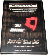 InterTuneTV OMNI POWER B16 200WHP DVD - Omniman 200whp B16A project DVD