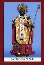 SANTINO SAN NICOLA DA BARI   IMAGE PIEUSE - HOLY CARD-  Heiligenbild