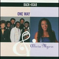One Way, Alicia Myers, Back To Back, Excellent, Audio CD