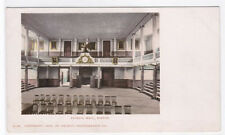 Faneuil Hall Interior Boston Massachusetts Detroit Publishing 1905c postcard