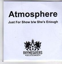 (CO414) Atmosphere, Just For Show - 2011 DJ CD