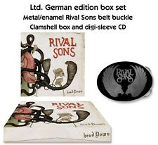 "Rival Sons ""Head Down"" Clam Box with BELT BUCKLE! - NEW German Import"