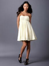 "Twenty8Twelve Twenty 8 Twelve ""Aura"" Alabaster Strapless Dress 4 US $575"