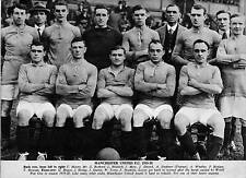 MAN UTD FOOTBALL TEAM PHOTO>1919-20 SEASON