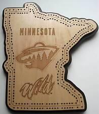 Minnesota Wild Cribbage Board
