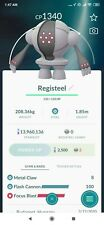 Pokemon Go Registeel with 2 charged attack Great League ONLY REGISTERED