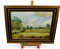 Original Oil Painting Signed Howard Brooke Countryside Framed