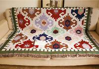 Geometric Aztec Navajo blanket rugs wall hangings tapestry sofa throw decorative