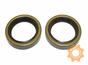 MAZDA 2 5 SPEED GEARBOX DIFF / DRIVESHAFT OIL SEAL PAIR