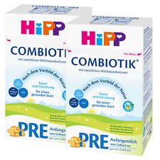 2x 600 g Hipp COMBIOTIK début lait Pre de naissance bien au zufüttern Nature