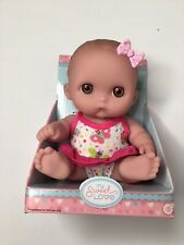"Lil' Cutesies 5"" Doll Bay Big Brown Eyes"