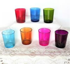 Eastland Colored Glass Votive Candle Holder Collection