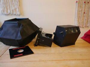 Sinar accessories hoods, board, wide bellows et al