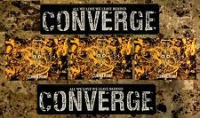 CONVERGE Thousands Of Miles Between Us | All We Love Stickers + Postcards Lot!