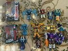 Transformers Collection Lot of 11 Bumblebee Galvatron Strafe