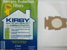 6 Kirby Vacuum Cleaner Universal Bag Models Se 2 Ii, Ultimate G Hepa De Diamond