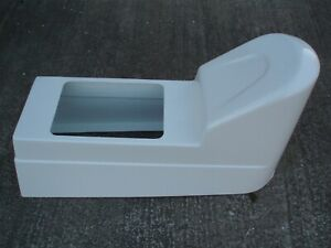 NEW JOCKEY CONSOLE  MOULDING ONLY for Rib or Small Boat in WHITE