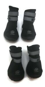 Silver Paw Booties For Gogs  Eliminates Ordor Causing Bacteria Sz L Set Of 4  A6