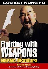 Combat Kung Fu San Soo: Fighting with Weapons + movie stunts Dvd Gerald Okamura