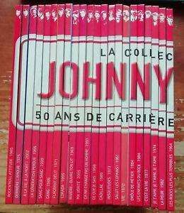 La Collection Officielle JOHNNY HALLYDAY 50 ans de carrière 50 albums de légende