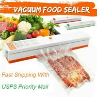 Vacuum Sealer Machine & Embossed Seal Bag Rolls Foodsaver Commercial Food Saver