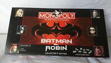 Monopoly - Batman And Robin Collectors Edition