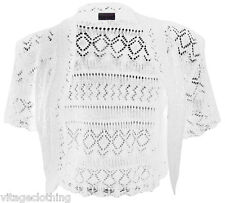 White Crochet In Womens Jumpers Cardigans For Sale Ebay