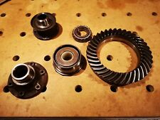 6.17 VW T25 T3 Syncro 4x4 Rear Crown Wheel Ring + Sundry Syncro Gearbox Parts