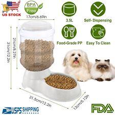 Automatic Pet Feeder Dog Cat Self-Dispensing Animal Food Bowl Auto Dispenser
