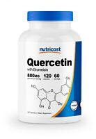 Nutricost Quercetin 880mg, 120 Vegetarian Capsules With Bromelain - 60 Servings