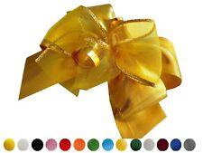 3 Stück Seidenband Organza Geschenkschleife Larina schleife für Geschenke