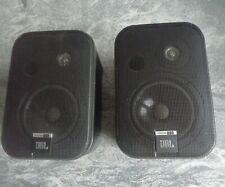 JBL Control One SET Kompakt Lautsprecher, Schwarz, Regallautsprecher