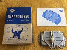 Vintage Ising Klebepresse 8/16 mm film splicer-colleuse