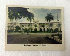 VINTAGE PHOTO of RAILWAY STATION - IPOH, PERAK MALAYSIA