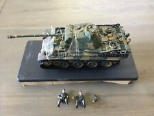 Ultimate Soldier 99405 Cold Steel German Camo Panzer Panther Tank & 2 Crew 1/32